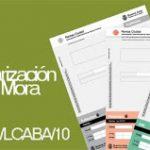 Plan de Regularización de Deudas en Mora (Ley 3461/LCABA/10) Instructivo y Preguntas fecuentes