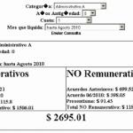 Calculadora online de salarios para Empleados de Comercio – Escala 2010