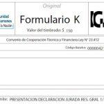 IGJ: Cómo obtener el Formulario K de la Resolución 01/10