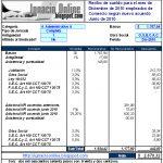 Empleados de Comercio: liquidación de sueldo diciembre de 2010