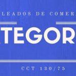 Categorías Empleados de Comercio del CCT 130/75