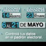 Elecciones 2011: cómo hacer reclamos por los padrones