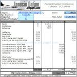 Empleados de Comercio Rama Turismo: liquidación de sueldo Septiembre de 2011