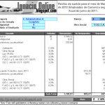 Empleados de Comercio: liquidación de sueldo marzo de 2012