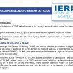 IERIC: nuevo sistema de pagos desde el 1° de junio nuevo