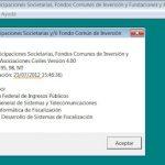 Acciones y Participaciones RG 3293: Ejemplo carga de datos en el aplicativo Participaciones societarias