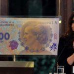 El  nuevo billete de 100 pesos con la imagen de Eva Perón