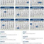 Calendario de feriados 2013 – 19 feriados y 7 fines de semana largos