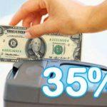 Suben 35% adelanto de Ganancias por consumos con tarjetas en el exterior