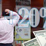 La compra de dólares para ahorro tendrá percepción del 20%