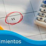 Agenda de vencimientos del 10 al 14 de Febrero 2014