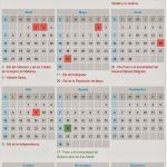 Calendario de feriados 2015