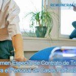 Servicio doméstico Escala salarial 2015