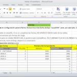 Planilla Excel Régimen de Información de Compras y Ventas