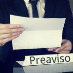 Plazos del Preaviso en la disolución del contrato de trabajo