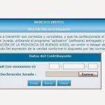 ARBA implementa la septima etapa de la DDJJ Web