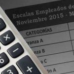 Empleados de comercio: Escalas salariales 2015-2016