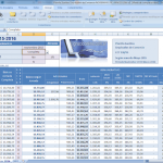 Planilla excel sueldos de Empleados de Comercio Noviembre 2015 Marzo 2016