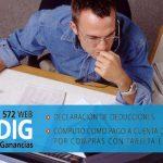 Ganancias: rige el plazo para informar deducciones personales f 572