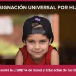 Para cobrar la AUH es requisito presentar la Libreta de Salud y Educación