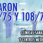 Sanidad: acuerdos salariales para el CCT 122/75 y 108/75