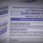 Trabajo Agrario: detalles del nuevo incremento salarial
