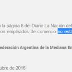 Empleados de Comercio: 19% pero sin bono