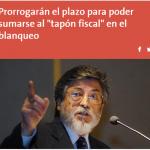 AFIP analiza prorrogar el plazo para poder sumarse al «tapón fiscal»