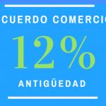 Acuerdo Comercio: el 12% no remunerativo y la antigüedad