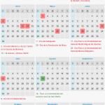 Calendario de feriados 2017