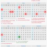 Cómo queda el calendario de feriados 2017