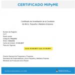 Últimos días para renovar el certificado PyME