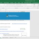 Categorización MiPyme planilla excel para general el txt