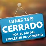 Día del Empleado de Comercio 2017 se traslada al lunes 25