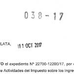 Resolución Normativa 38/17 ARBA  Ingresos Brutos. Nuevo Nomenclador de Actividades (NAIIB-18)