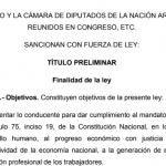 #ReformaLaboral El texto definitivo del proyecto acordado con la CGT