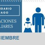 Asignaciones Familiares calendario de pago Diciembre 2017
