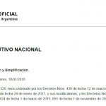 Decreto 27/2018  Desburocratización y Simplificación
