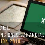 Planilla excel cálculo retenciones Ganancias 2018 corregida