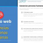 AFIP habilitóGanancias Web y Revalúo Impositivo