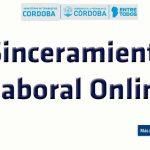 sinceramiento laboral online córdoba