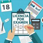 Cuántos días de licencia corresponden por estudio