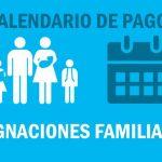 Asignaciones Familiares Calendario de pago Noviembre 2018