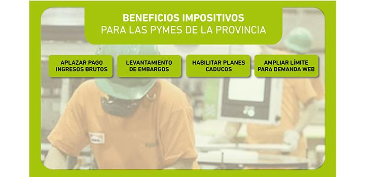 La Agencia de Recaudación de la Provincia de Buenos Aires (ARBA) publicó en su página web, medidas impositivas para las pequeñas y medianas empresas, que se detallan a continuación: