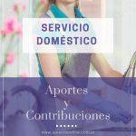 Servicio Doméstico: Aportes y Contribuciones noviembre 2019