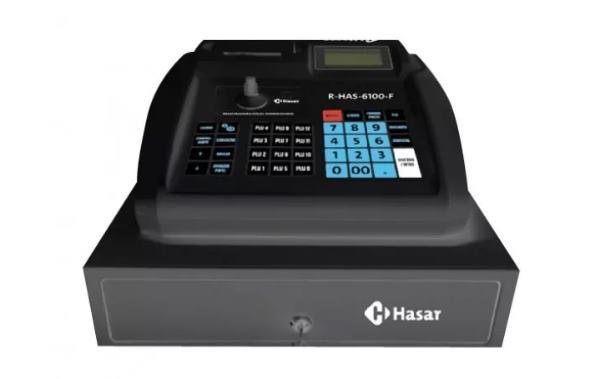 El R-HAS-6100-FAR de la marca HASAR, se trata de una Caja Registradora Homologada por la RG AFIP 4191-E/18. Cuenta con varias funciones: