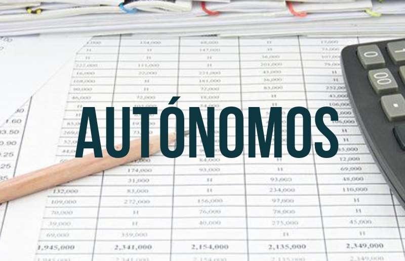 Autónomos: valores vigentes desde Marzo 2019
