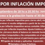 Capacitación online: Ajuste por Inflación Impositivo