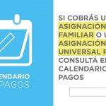Asignación Familiar por Hijo y Asignación Universal por Hijo Calendario de pago Septiembre, Octubre, Noviembre 2019