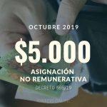 Las claves de la asignación no remunerativa de 5000 pesos